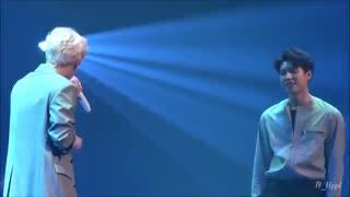 shine sungkyu and woohyun گیو سربازی میره :(