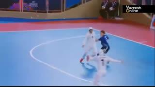خلاصه فوتسال بانوان ایران 5 - ژاپن 2 (جام ملتهای آسیا)