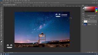 آموزش ساخت واترمارک و قرار دادن روی تصاویر در فتوشاپ