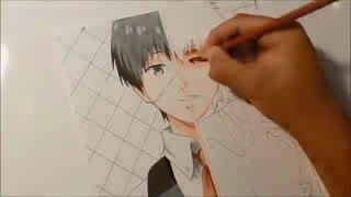 Tokyo ghoul drawing