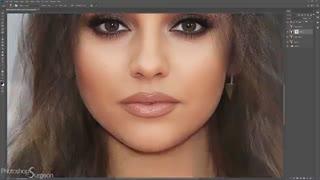 ترکیب چهره با فتوشاپ - 16 مه 2018