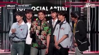 بی تی اس برای دومین سال متوالی موفق به بردن جایزه Top Social Artist بیلبورد میوزیک اواردز 2018 شد