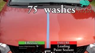 تست آبگریزی پوشش سرامیک مخصوص بدنه خودرو مدل پرو-Pro سیستم ایکس-System X - المنت 119-Element 119-گنجی پخش