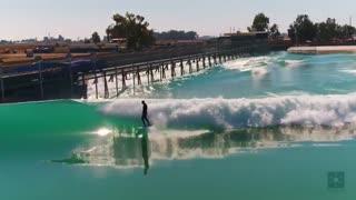 استفاده از دستگاه موج ساز Kelly Slater