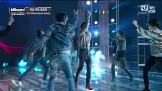 اجرای Fake Love تو بیلبورد Full HD
