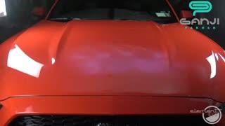 تست آتش و اسپری رنگ روی  پوشش سرامیک مخصوص بدنه خودرو مدل پرو-Pro سیستم ایکس-System X - المنت 119-Element 119-گنجی پخش