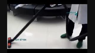 بخارشوی صنعتی - ضدعفونی کردن سطوح بیمارستان با بخارشو