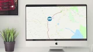 رصد لحظه ای موقعیت بار در وب سرویس شرکت های حمل و نقل