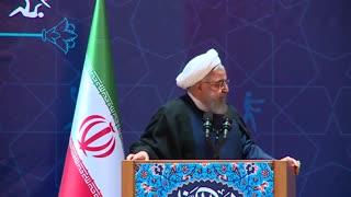 سخنرانی حسن روحانی در دیدار با ورزشکاران/دفاع از حضور زنان در ورزشگاه ها