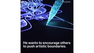 آثار هنری درخشان در شب - 24 مه 2018
