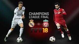 فینال لیگ قهرمانان 2018 - رئال مادرید لیورپول