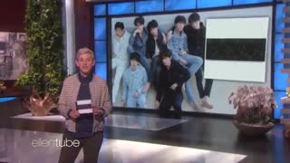 اجرای fake love از بی تی اس در برنامه الن شوBTS Ellen show