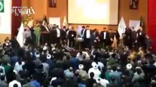 درگیری شدید میان اعضای حزب اعتماد ملی