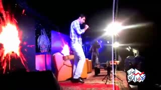 تقلید صدای خواننده های مختلف توسط سامان طهرانی