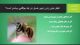 درمان خانگی نیش زنبور عسل (آهوتا)