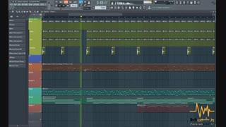 بیت علیرضا طلیسچی - ای داد بر من (FL Studio)