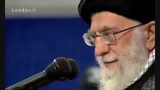 حاشیه های دیدنی دیدار دانشجویان با رهبر معظّم انقلاب اسلامی | خرداد ۹۷