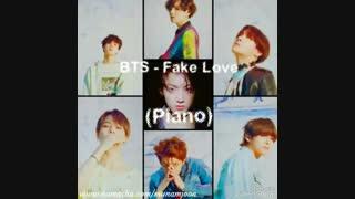ورژن پیانو Fake Love از BTS