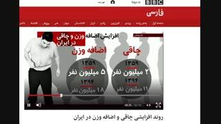 گزارش شبکه بی بی سی bbc از کلاس لاغری با متد NLP