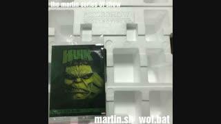 کاستوم فیگور مرد عنکبوتی Spider-Man و سردیس هالک Hulk و نمونه هایی دیگر از کلکسی