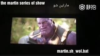 کشته شدن ثانوس با استورم بریکر ثور . 10 دقیقه آخر جنگ بینهایت اونجرز ۳ Avengers