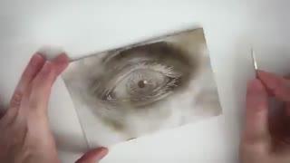 نقاشی با آتش