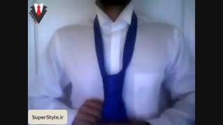 نحوه بستن کراوات آسان و سریع