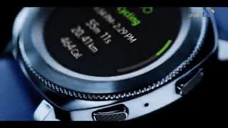 ویدئوی عرضه ساعت هوشمند سامسونگ Gear Sport