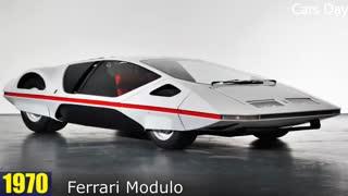 خودروی فراری از سال 1949 تا 2017