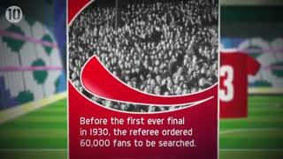 10 حقیقت جالب در مورد جام جهانی فوتبال