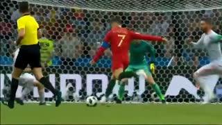 خلاصه بازی اسپانیا 3 - 3 پرتغال (هتریک کریس رونالدو) جام جهانی 2018