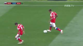 خلاصه بازی افتتاحیه جام جهانی: روسیه - عربستان
