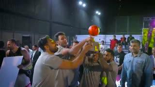 تیزر مسابقات بسکتبال خیابانی (استریت بال)  جام آیسی مانکی کاری از ایران ایکس گیم