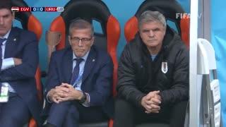 خلاصه بازی  مصر - اروگوئه در جام جهانی 2018 روسیه