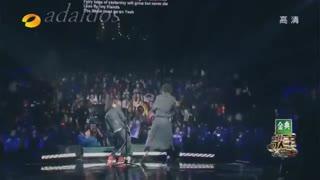 اجرای زنده   Dimash kudaibergen (مقام دوم مسابقه ی خوانندگی در چین)