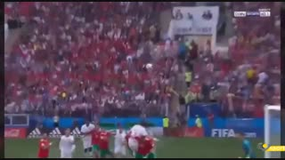 این رونالدوی مهارنشدنی ، گل اول پرتغال به مراکش