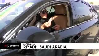 شاهزاده صعودی فیلم اولین رانندگی دخترانش را منتشر کرد!