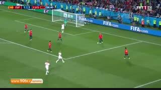 خلاصه جام جهانی: اسپانیا ۲-۲ مراکش