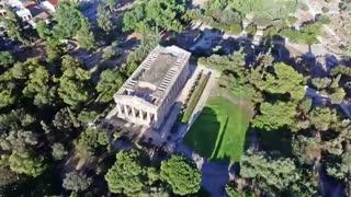 معبد هفائستوس نزدیکی آتن