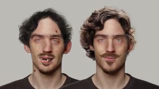 قدرت فتوشاپ برای تغییر چهره