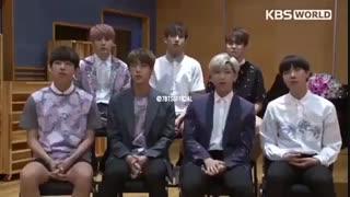 تبریک ماه مبارک رمضان از طرف BTS