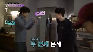 یک تیکه از پشت صحنه ی سریال کره ای و ژاپنی جن