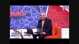 حمله تند کارشناس تلویزیون به سردار آزمون در حضور جواد خیابانی  پوشیدن پیراهن تیم ملی لیاقت می خواهد و نیازی بهت ندارد