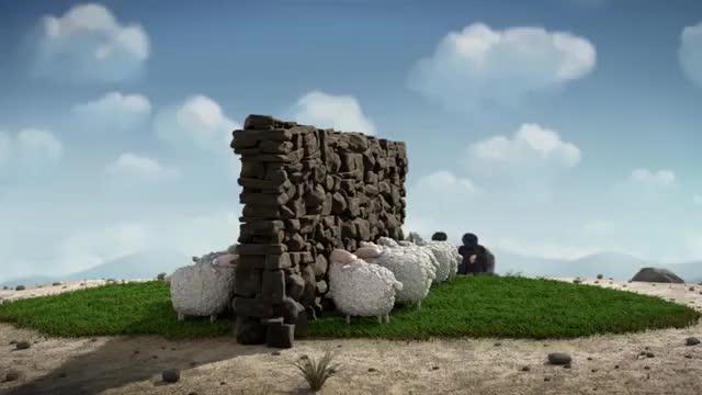انیمیشن کوتاه !Oh Sheep