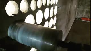 کرگیری از دیوار بتن مسلح به ضخامت ۴۰ سانتیمتر