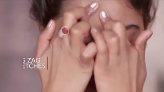 ماساژ صورت با روغن خراطین