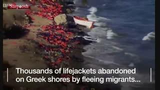 چه بر سر جلیقه نجات پناهجویان میآید؟