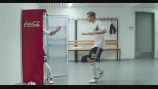 تبلیغ جدید کوکاکولا با تیم ملی آلمان