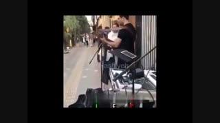 اجرای زنده آهنگ گوگوش در خیابان ونک تهران - عجب جراتی!