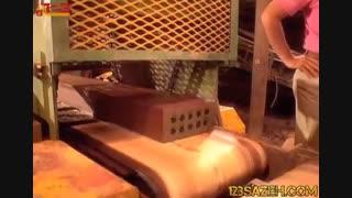کارخانه ساخت آجر ده سوراخ